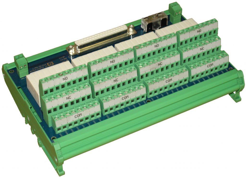 Erweiterungsmodul mit 32 Relais für C-Serie Module